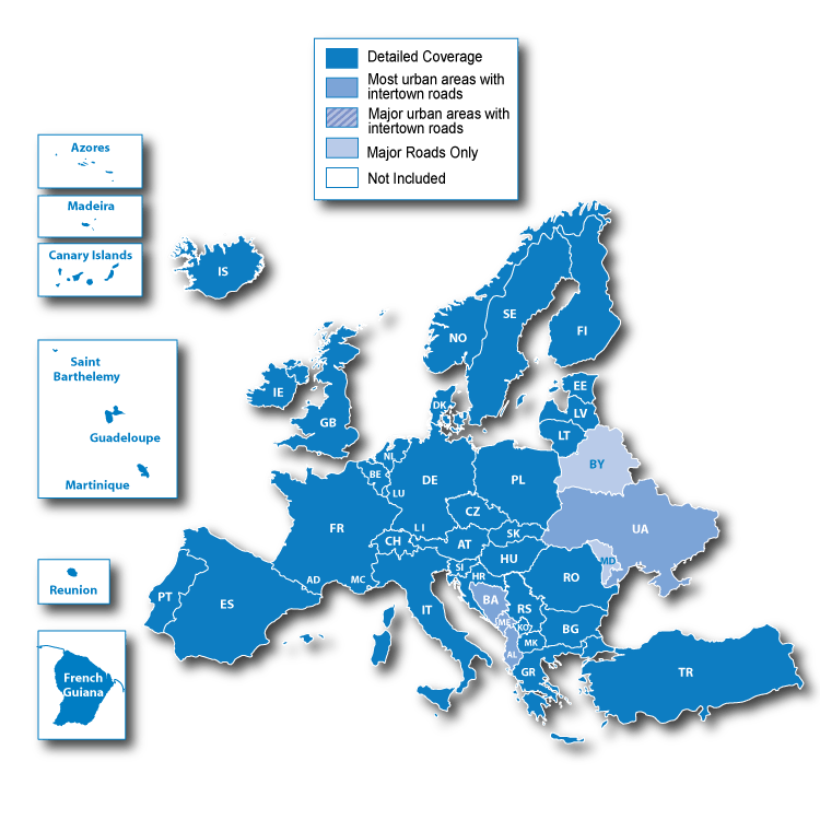 Garmin 2015.20 maps for Europe Download free