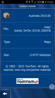 Demo iGO Australia and New Zealand 2015 map download for free