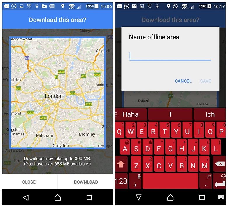 How to download Google Maps for offline use