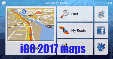 Download iGO 2017 Europe maps Download free GPS maps
