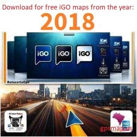 iGO 2018 world map torrent dowload free