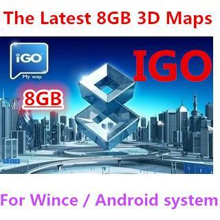 iGO Canada 2018 maps download