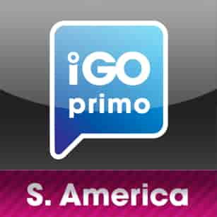 iGO South America maps 2018