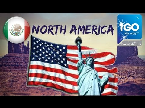 iGO North America Maps 2019 download free