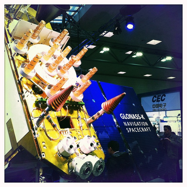 Glonass Satellite