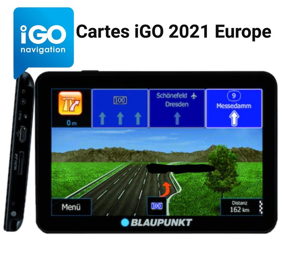 igo 2021 europe maps Cartes iGO 2021 Europe
